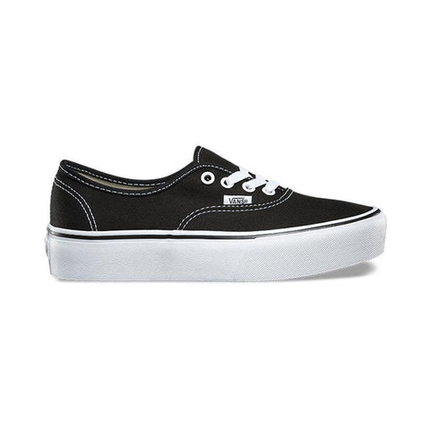 Vans Authentic Platform 2.0 Black-50-50 Skate Shop
