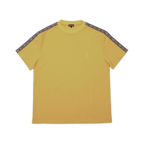 Passport Barbs Ribbon Short Sleeve Shirt Gold - 50-50 Skate Shop