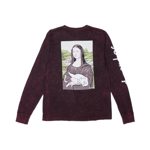 Ripndip Nermalisa Long Sleeve Tee Blood Mineral - 50-50 Skate Shop