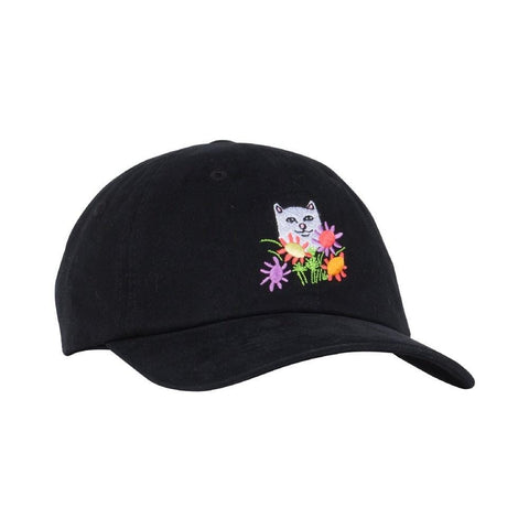 Ripndip Flowers For Bae Hat Black-50-50 Skate Shop