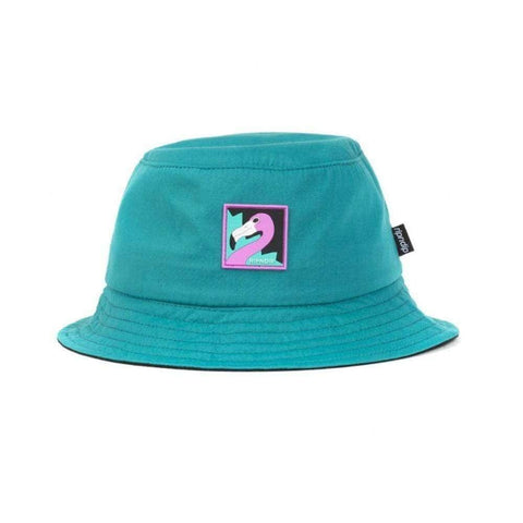 Ripndip The Loon Bucket Hat Teal-50-50 Skate Shop