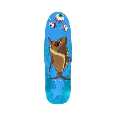 "Shipyard Skateboard Deck OS Shape Hot Dogger 9.25"" x 32.5"" Blue-50-50 Skate Shop"
