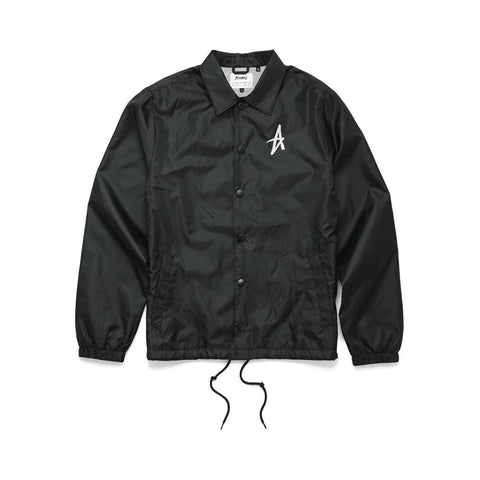 Altamont Parrick Coach Jacket Black-50-50 Skate Shop
