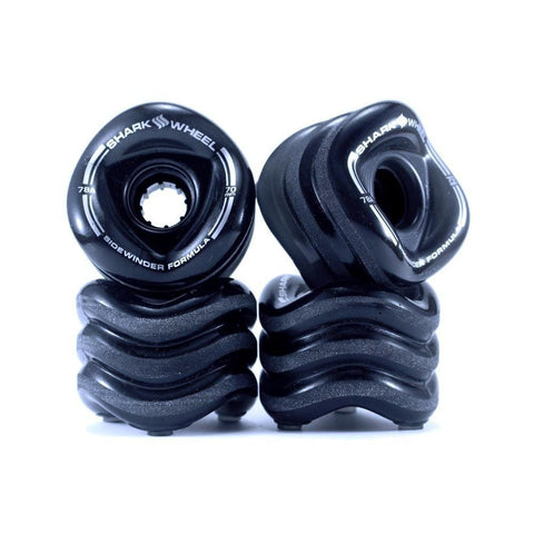 Shark Skateboard Wheels Sidewinder Smoke 70mm x 78a-50-50 Skate Shop
