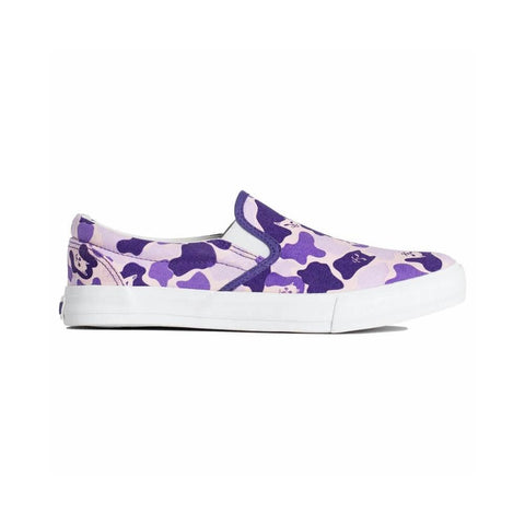 Ripndip Lord Nermal Slip On Shoes Purple Camo-50-50 Skate Shop