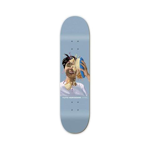"April Skateboard Deck Yuto Cake 8.25"" x 31.785""-50-50 Skate Shop"