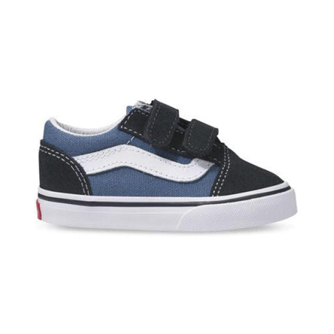 Vans Toddler Old Skool V Navy - 50-50 Skate Shop