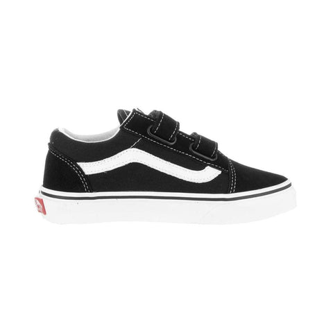 Vans Kids Old Skool V Black True White - 50-50 Skate Shop