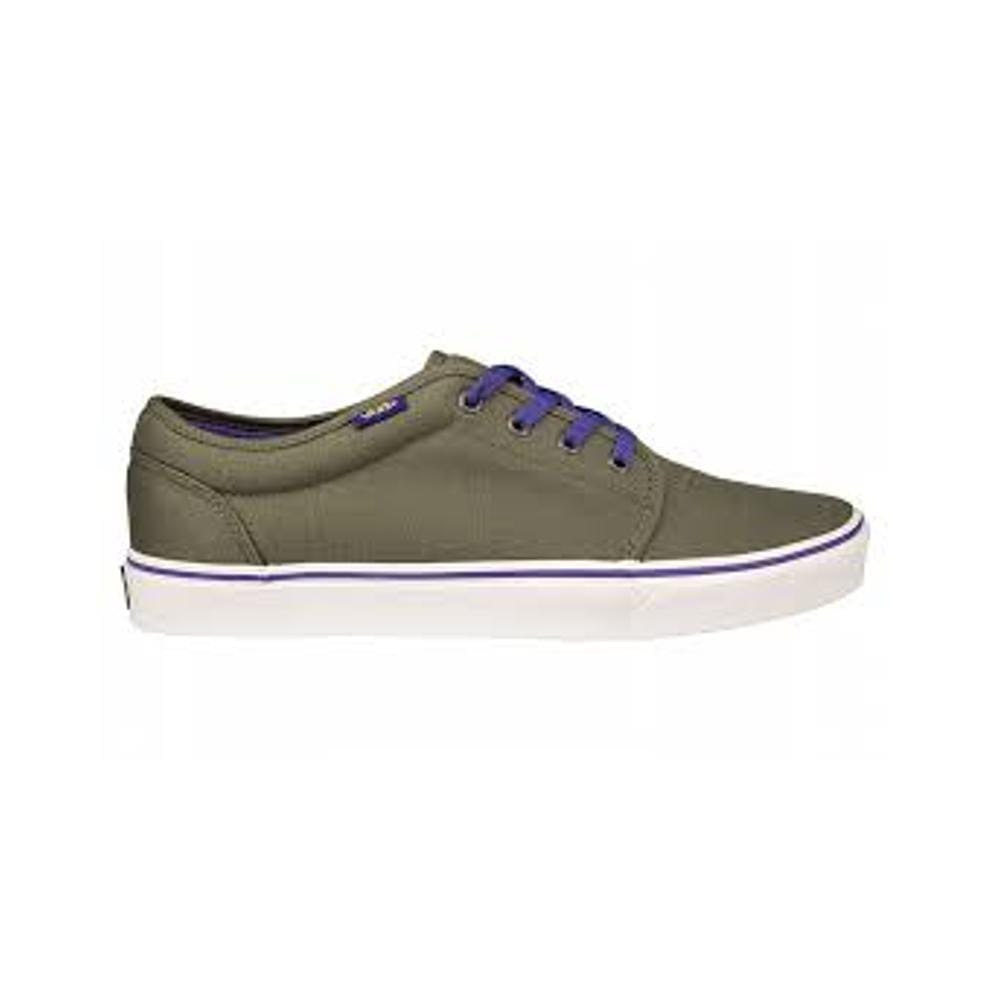 Vans Kids 106 Vulc (Pop) Charcoal liberty Cyb Ylw-50-50 Skate Shop