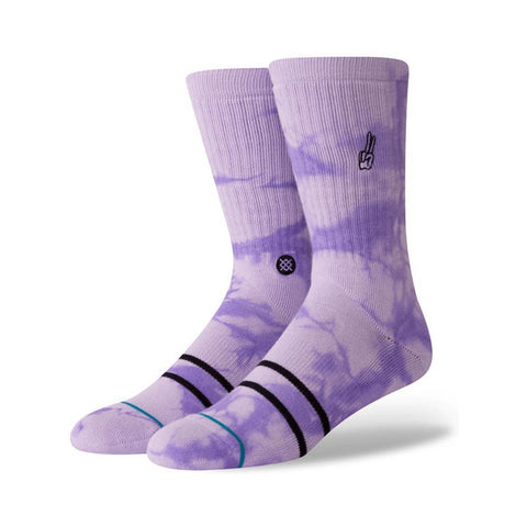 Stance Mens Promises Socks Violet-50-50 Skate Shop