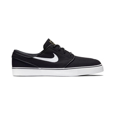 Nike Zoom Stefan Janoski Canvas Black White