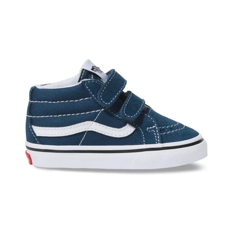 Vans Toddler Sk8 Mid Reissue V Gibraltar Sea True White - 50-50 Skate Shop