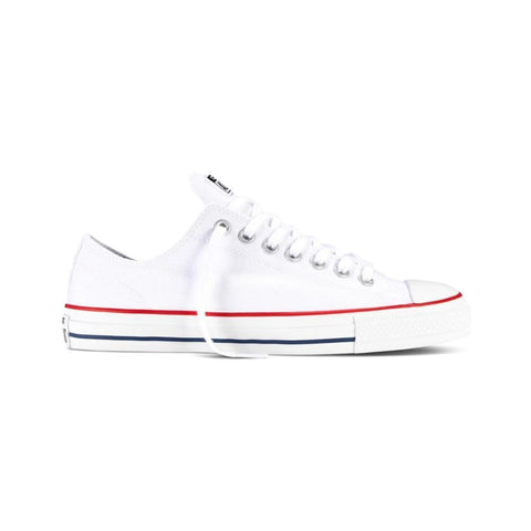 Converse CONS CTAS Pro Low White/Red/Navy - 50-50 Skate Shop