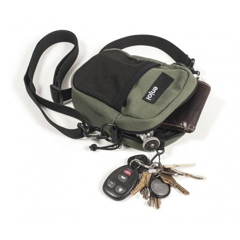 Enjoi Ratpack Shoulder Bag Army-50-50 Skate Shop