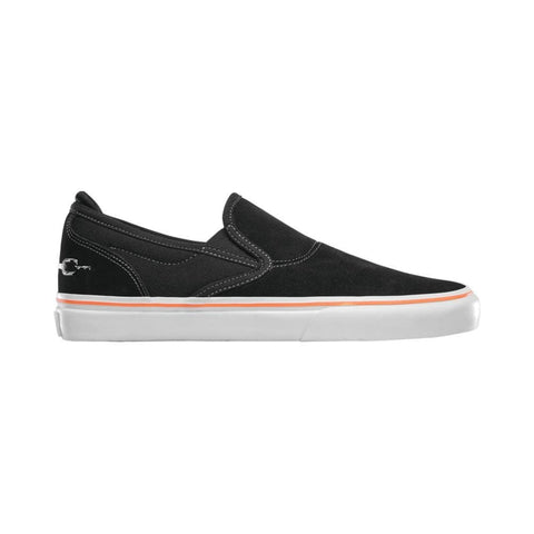 Emerica Wino G6 Slip On x Funeral Black - 50-50 Skate Shop