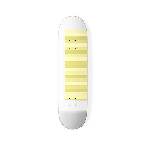 "4 Skateboard Skateboard Deck Subline Board Yellow 8.25"" - 50-50 Skate Shop"