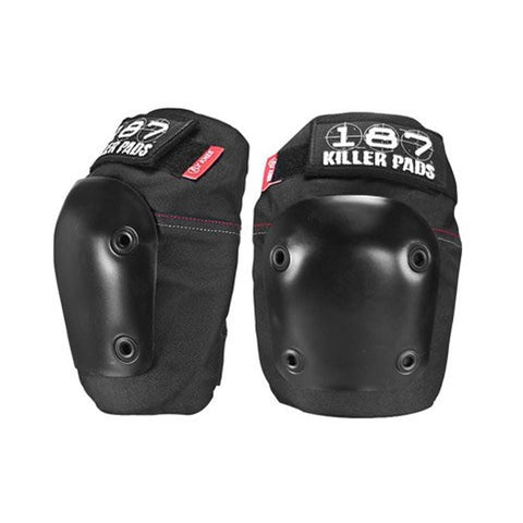 187 Fly Killer Knee Pads Black-50-50 Skate Shop