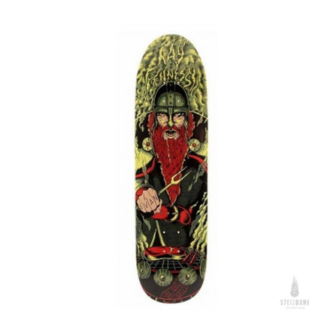 "Shipyard Skateboard Deck Chica Shape Ray Fennessey Evan The Bar-B-Quarian 8.75"" x 32.5""-50-50 Skate Shop"