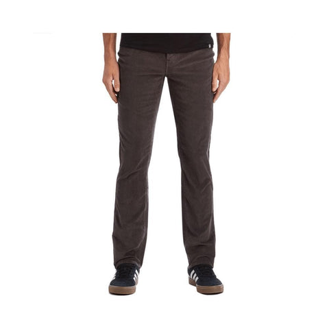 Krew K Slim 5 Pocket Corduroy Carbon-50-50 Skate Shop