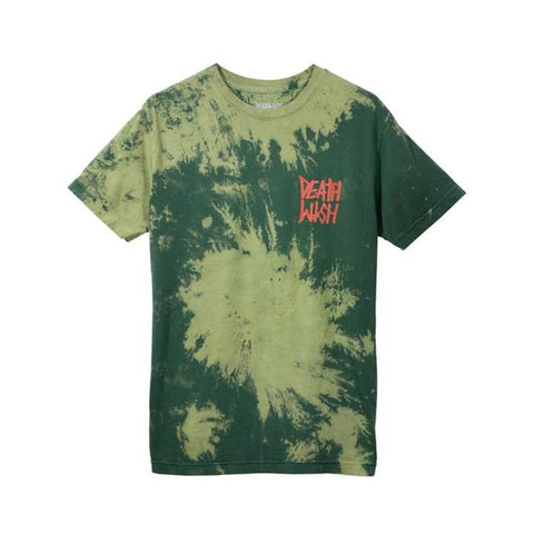 Deathwish Tee The Truth Olive Tie Dye - 50-50 Skate Shop