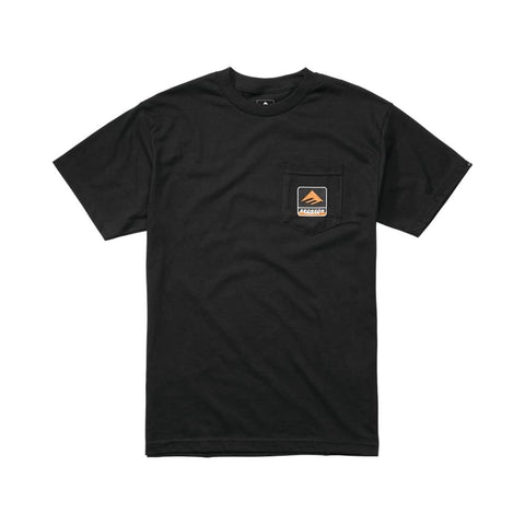 Emerica x Bronson Pocket Tee Black - 50-50 Skate Shop
