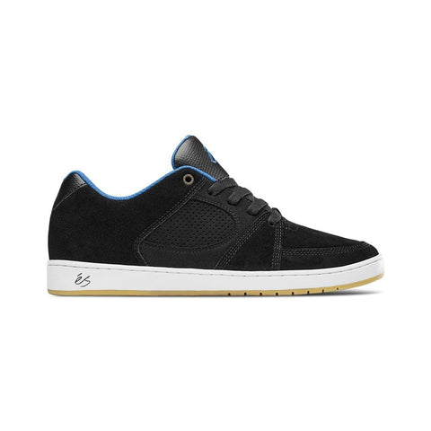 eS Accel Slim Black White Royal-50-50 Skate Shop