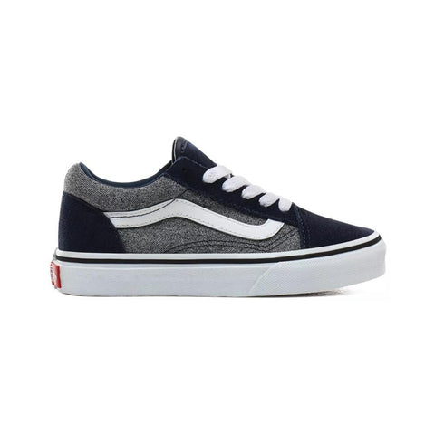Vans Kids Old Skool (Suede) Suiting Dress Blues - 50-50 Skate Shop
