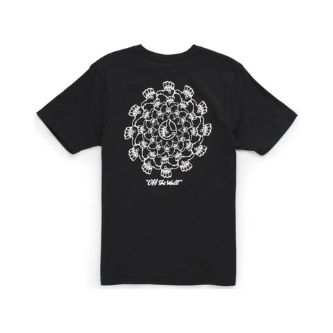 Vans Winners Circle Boys Short Sleeve Tee Black-50-50 Skate Shop