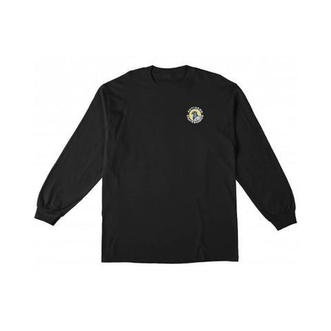 Antihero Long Sleeve Tee Pigeon Round Black - 50-50 Skate Shop