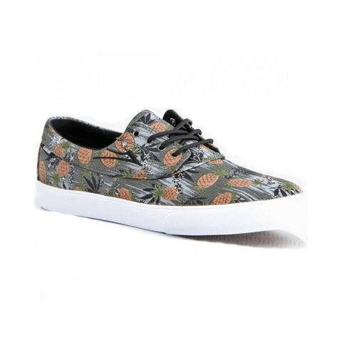 Lakai Camby Pineapple Black Canvas - 50-50 Skate Shop