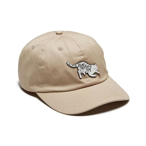 Ripndip Tattoo Nerm Dad Hat Tan-50-50 Skate Shop