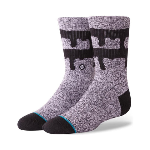 Stance Boys Drips Socks Grey-50-50 Skate Shop