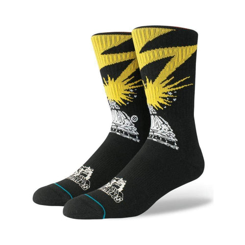 Stance Mens Bad Brains Socks Black-50-50 Skate Shop