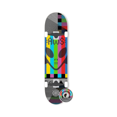"Alien Workshop Skateboard Complete Videolog 7.75"" Multi - 50-50 Skate Shop"