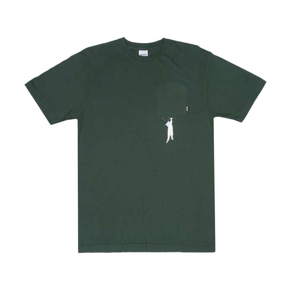 Ripndip Jungle Nermal Tee Hunter Green-50-50 Skate Shop