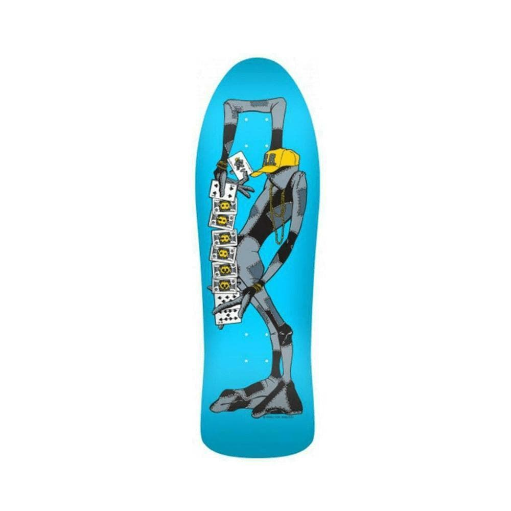 "Powell Peralta Deck Barbee Ragdoll 10"" x 31.875"" Blue-50-50 Skate Shop"