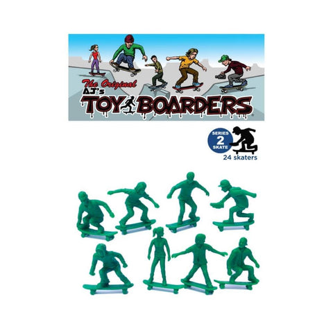 AJ's Toyboarders Skate Series 2 Green (24 Pack)-50-50 Skate Shop