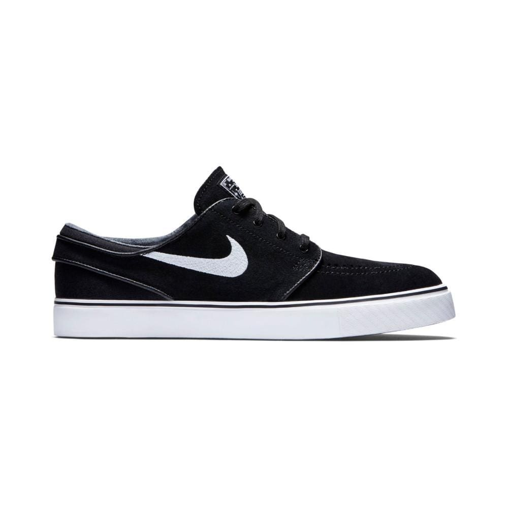 Nike SB Black & White Suede Skate Shoes
