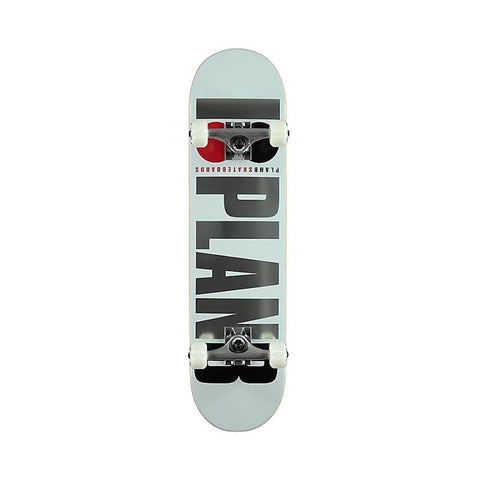 Plan B Skateboards Complete Team OG White 7.75""