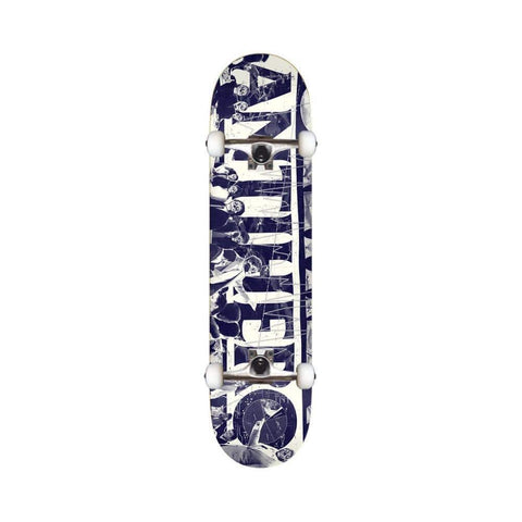 "Anti Hero Skateboard Complete 3RD Quarter 8.25"" Navy - 50-50 Skate Shop"
