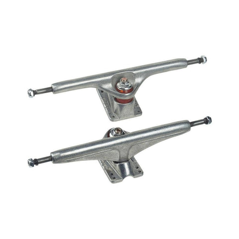 Tracker Skateboard Trucks Dart 184mm (9.5 Inch) Silver (1 Pair)-50-50 Skate Shop