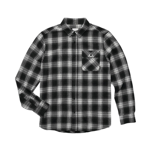 Emerica Drift Long Sleeve Flannel Black - 50-50 Skate Shop
