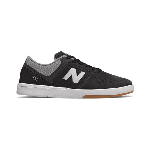 New Balance Numeric 533 Black White-50-50 Skate Shop