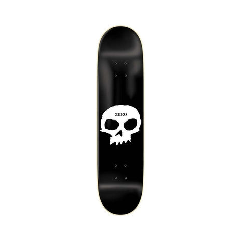 "Zero Single Skull R7 Black White 8.0""-50-50 Skate Shop"