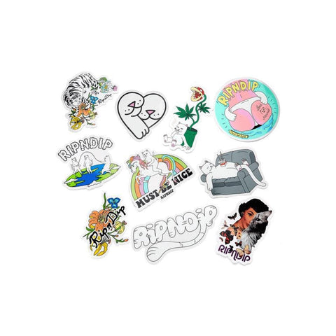 Ripndip 2019 Sticker Pack - 50-50 Skate Shop