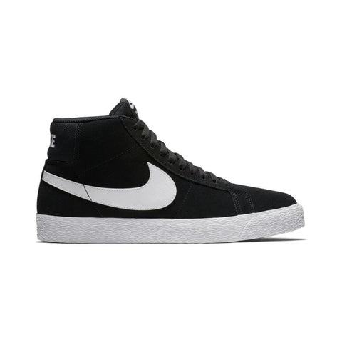 Nike SB Zoom Blazer Mid Black White-50-50 Skate Shop