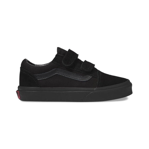 Vans Kids Old Skool V Black Black - 50-50 Skate Shop