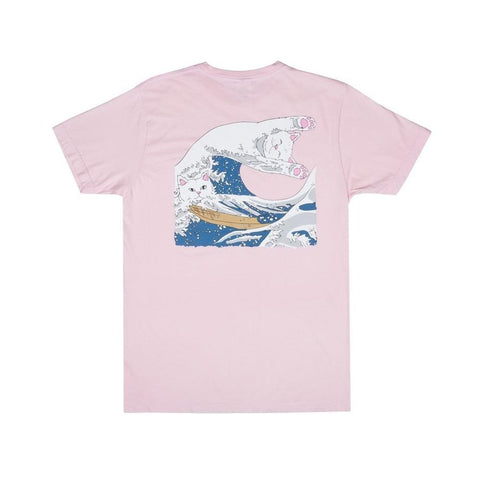 Ripndip Great Wave Tee Blossom - 50-50 Skate Shop