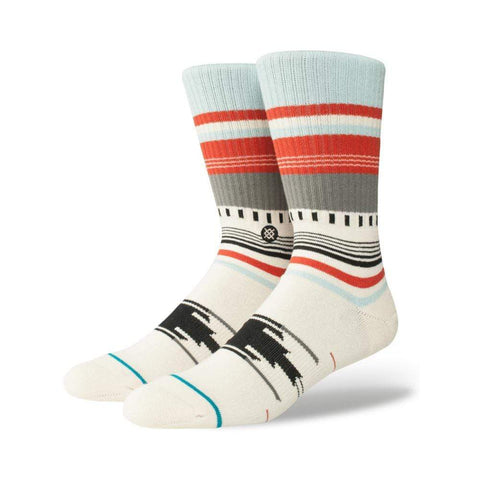 Stance Mens Cruz Socks Natural-50-50 Skate Shop