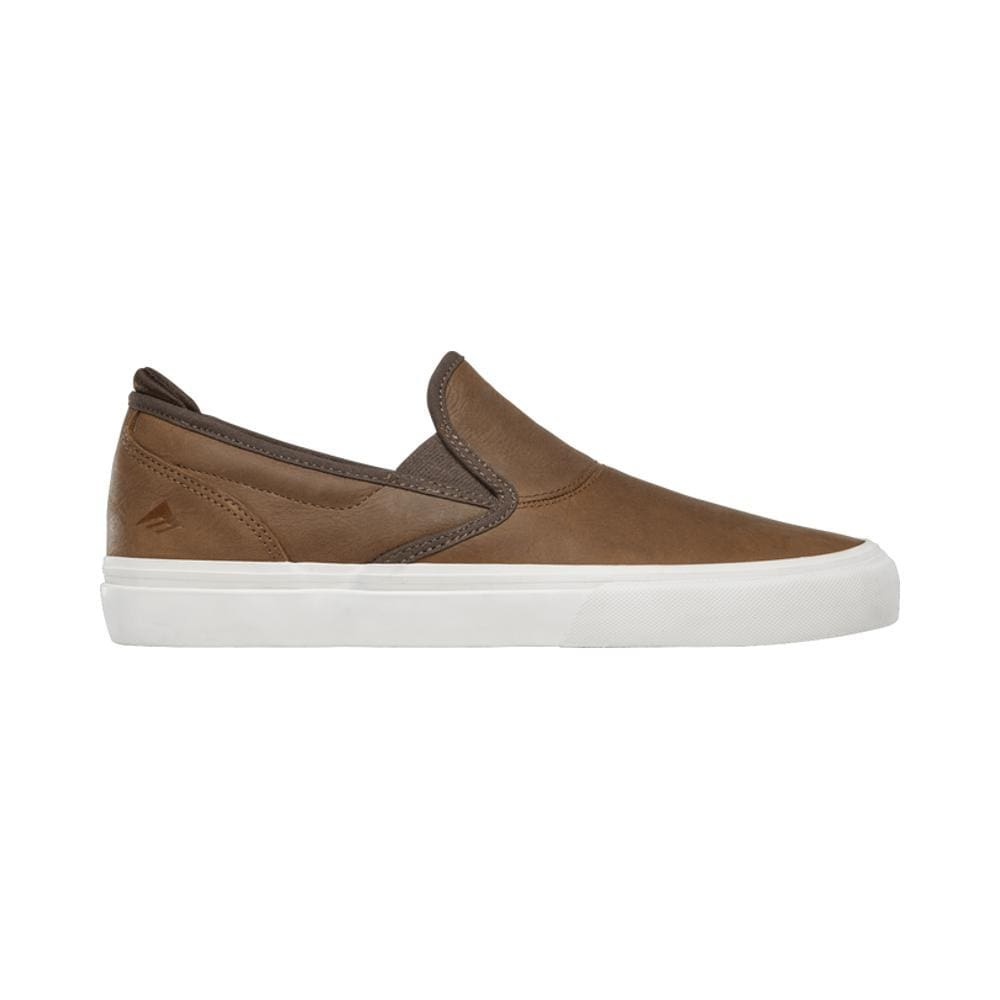 Emerica Wino G6 Slip On Brown Jon Dickson-50-50 Skate Shop